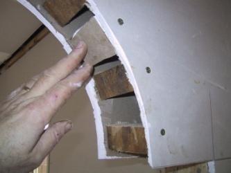 Arka iz gipsokartona svoimi rukami 1