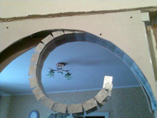 Arka iz gipsokartona svoimi rukami 11