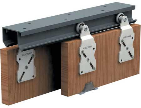 Верхние ролики двери шкафа-купе