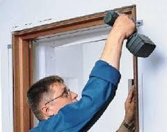Установка дверных ограничителей