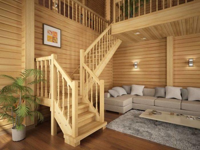 Как правильно установить балясины и перила - Всё о лестницах