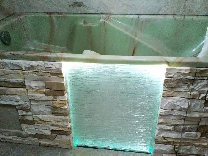 Экран для ванной своими руками фото