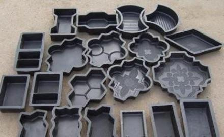 магазинные формы для тротуарных плиток