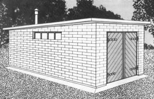 Возводим плоскую крышу