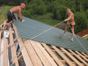 Возводим крышу