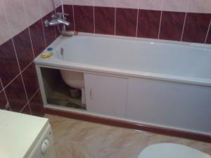 ustanovka vanny svoimi rukami 18