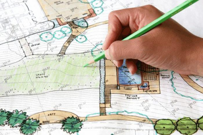 Разработка ландшафтного дизайна своими руками