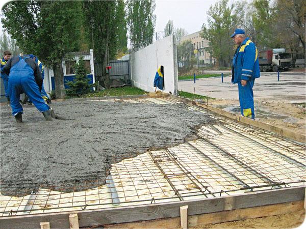 Фундамент под дом плита своими руками
