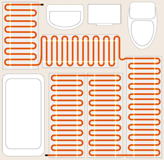 Правильное расположение проводников