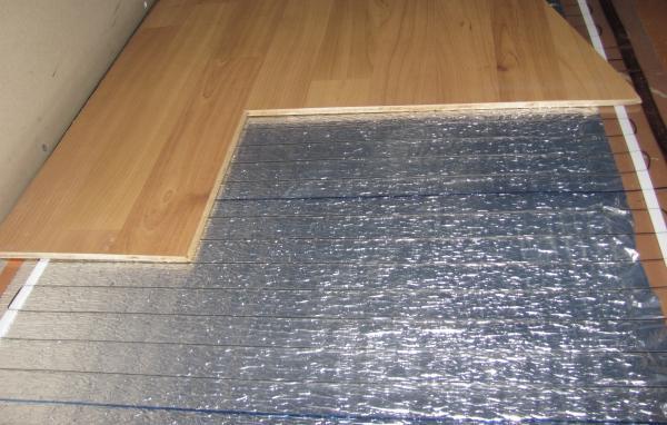 Металлизированная подложка для тёплого пола