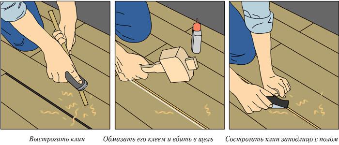 Ремонт деревянного настила