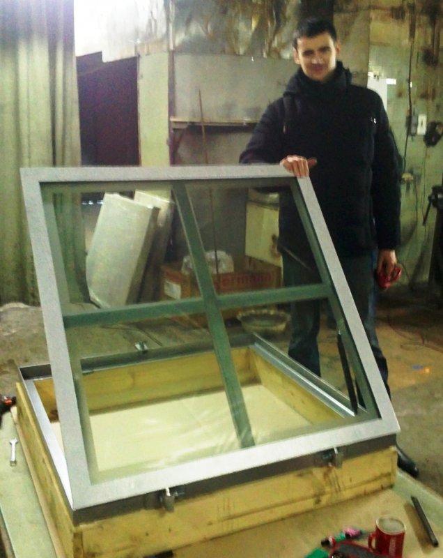 Панели из стекла для пола