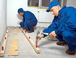 Лаги на бетонных перекрытиях
