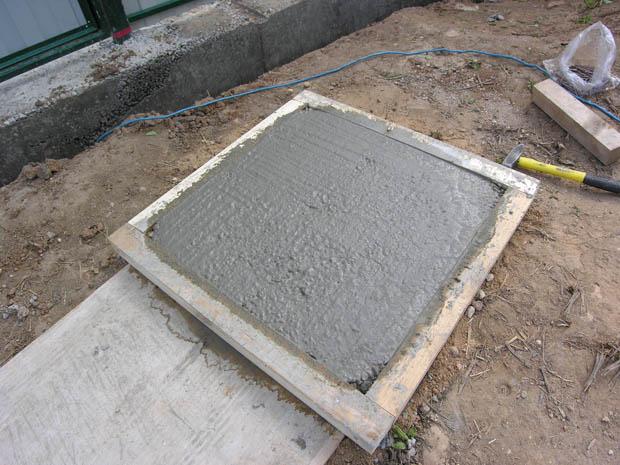 Плитка тротуарная в форме