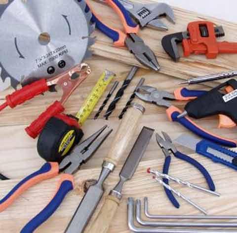 Инструменты для укладки фанеры