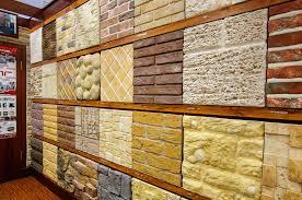 Ассортимент декоративной плитки под камень