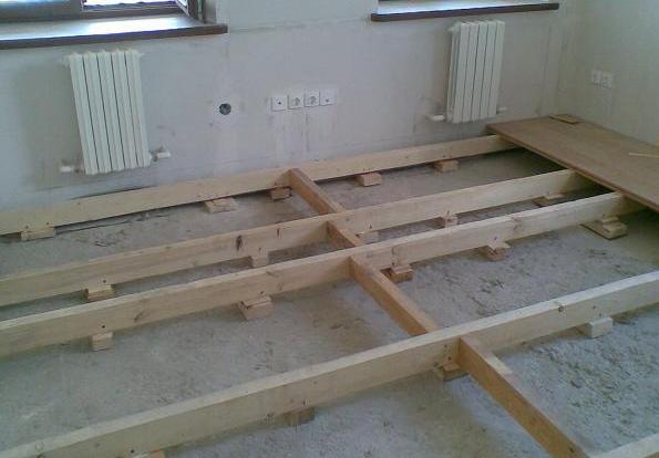 Укладка полов деревянных в квартире