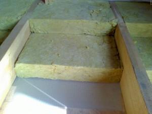 минеральная вата для утепления банного потолка