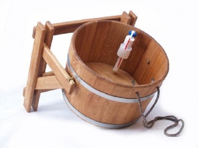 обливная купель для бани