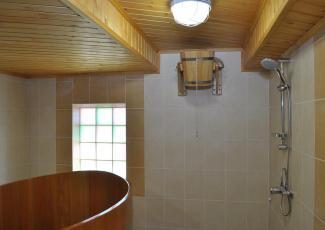 отделка моечной комнаты в бане своими руками