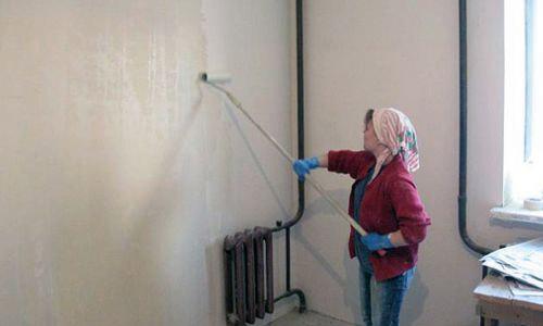 подготовка стен под поклейку флизелиновых обоев
