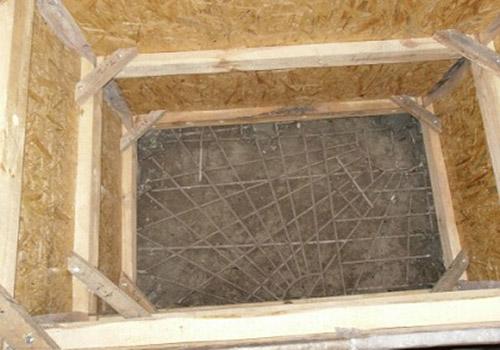 строительство купели из бетона