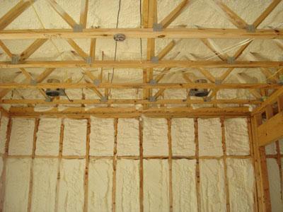 теплоизоляция потолочных перекрытий