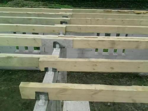 деревянных перекрытий