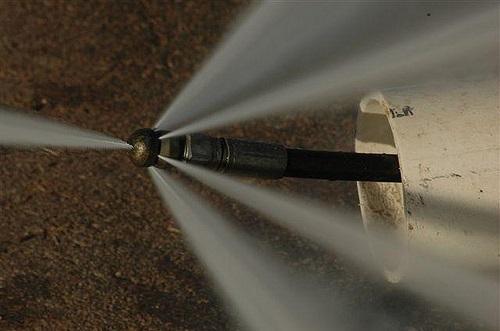 гидродинамическая прочистка наружной канализации
