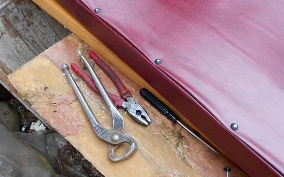 инструменты для утепления входной металлической двери