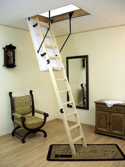 нестационарные чердачные лестницы