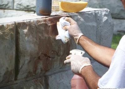 особенности окрашивания бетонных поверхностей