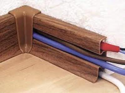 прокладка электрокабеля в кабель-канале