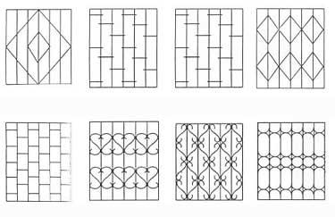 разновидности защитных решёток на окна