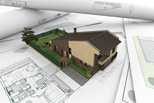 разработка проекта дома из пеноблока