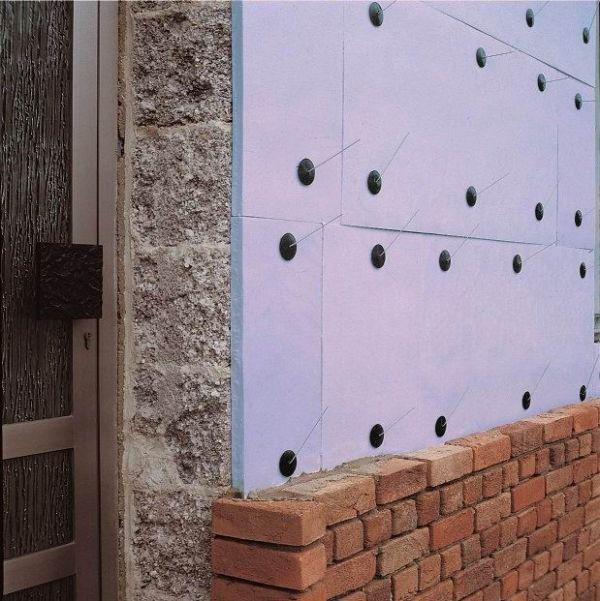 стены, утеплённые экструдированным полистиролом